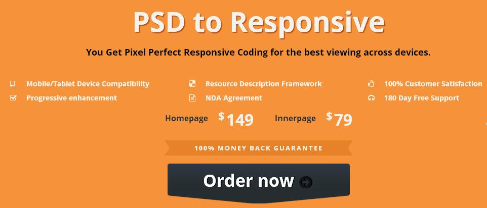 psd to responsive